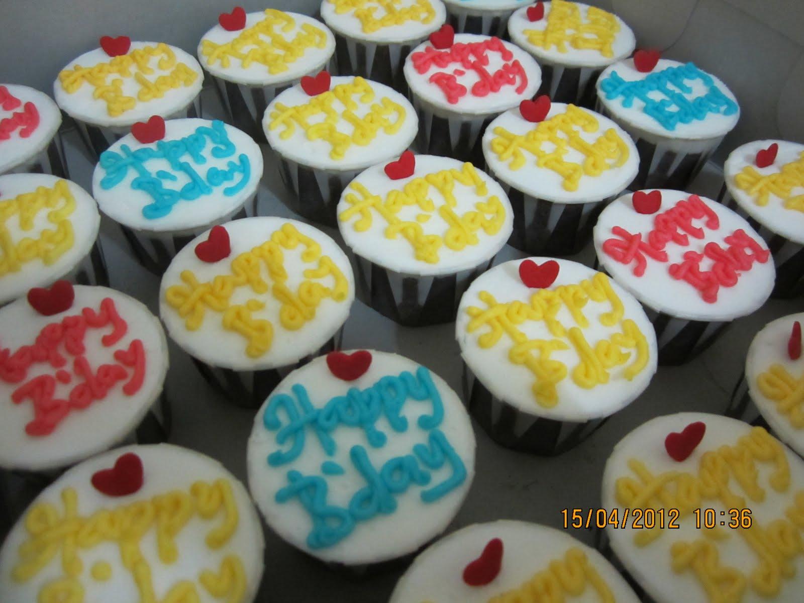 Azna\'s Wedding Cottage: Birthday Cuppies