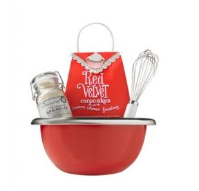 cupcake #gift basket from HomeGoods