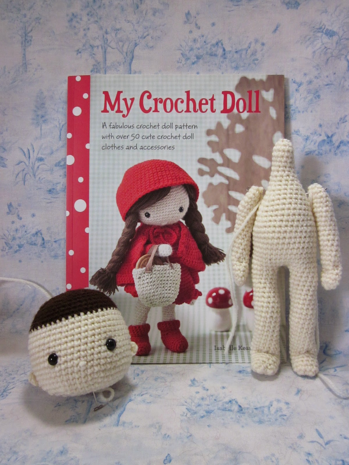 Crocheting Dolls : By Hook, By Hand: My Crochet Doll by Isabelle Kessedjian