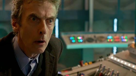 Peter Capaldi en action