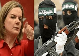 Gleisi Hoffmann apela à jihad no Brasil para libertar Lula