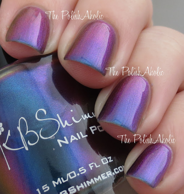The PolishAholic: KBShimmer Winter 2013 Collection Swatches