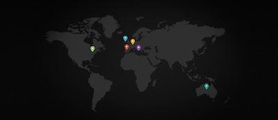 mapas en diseños web