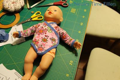 Doll Onesie Vest