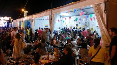 Caseta de Vecinos por Algete en las fiestas patronales