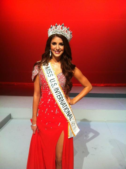 Miss USA International 2012 Amanda Renee Delgado
