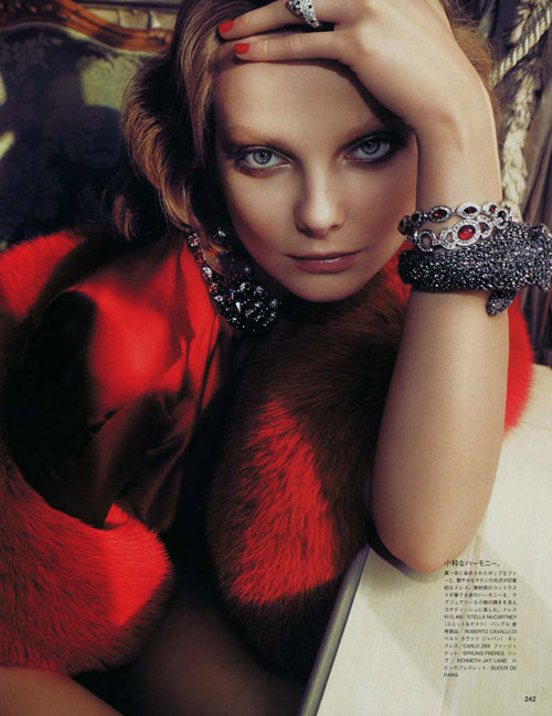 Eniko Mihalik on Japanese Vogue Magazine