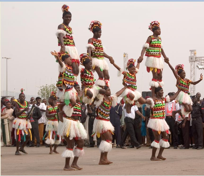 Atilogwu dancers
