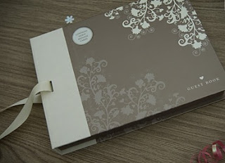 make wedding guest book at home