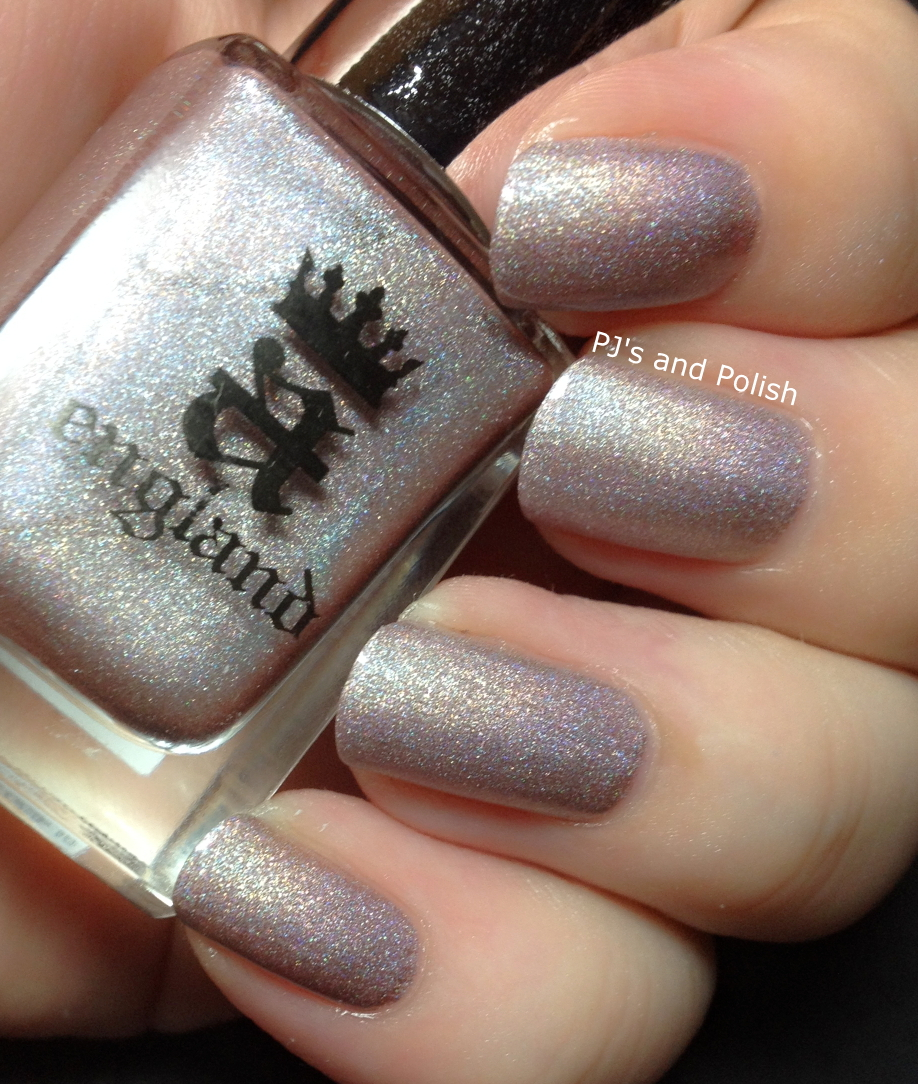 Swatch and Review A England Ballerina Collection Encore Margot Her Rose Adagio Dancing With Nureyev Fonteyn HK Girl Scattered Holo
