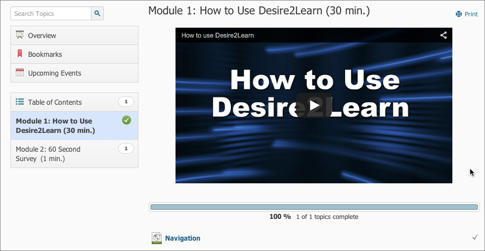 Example of a Video Embedded in the Add Description Field