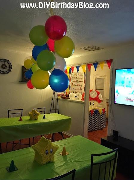 Super Mario Brothers Birthday Party