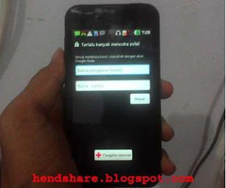 Cara Flash Handphone LG P970 Optimus Black