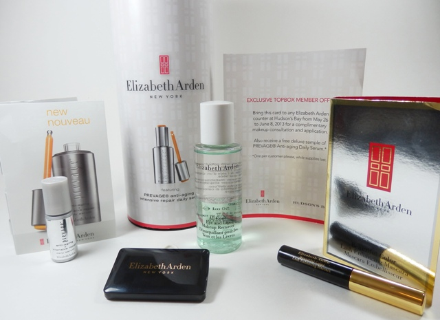 April 2013 Topbox Elizabeth Arden