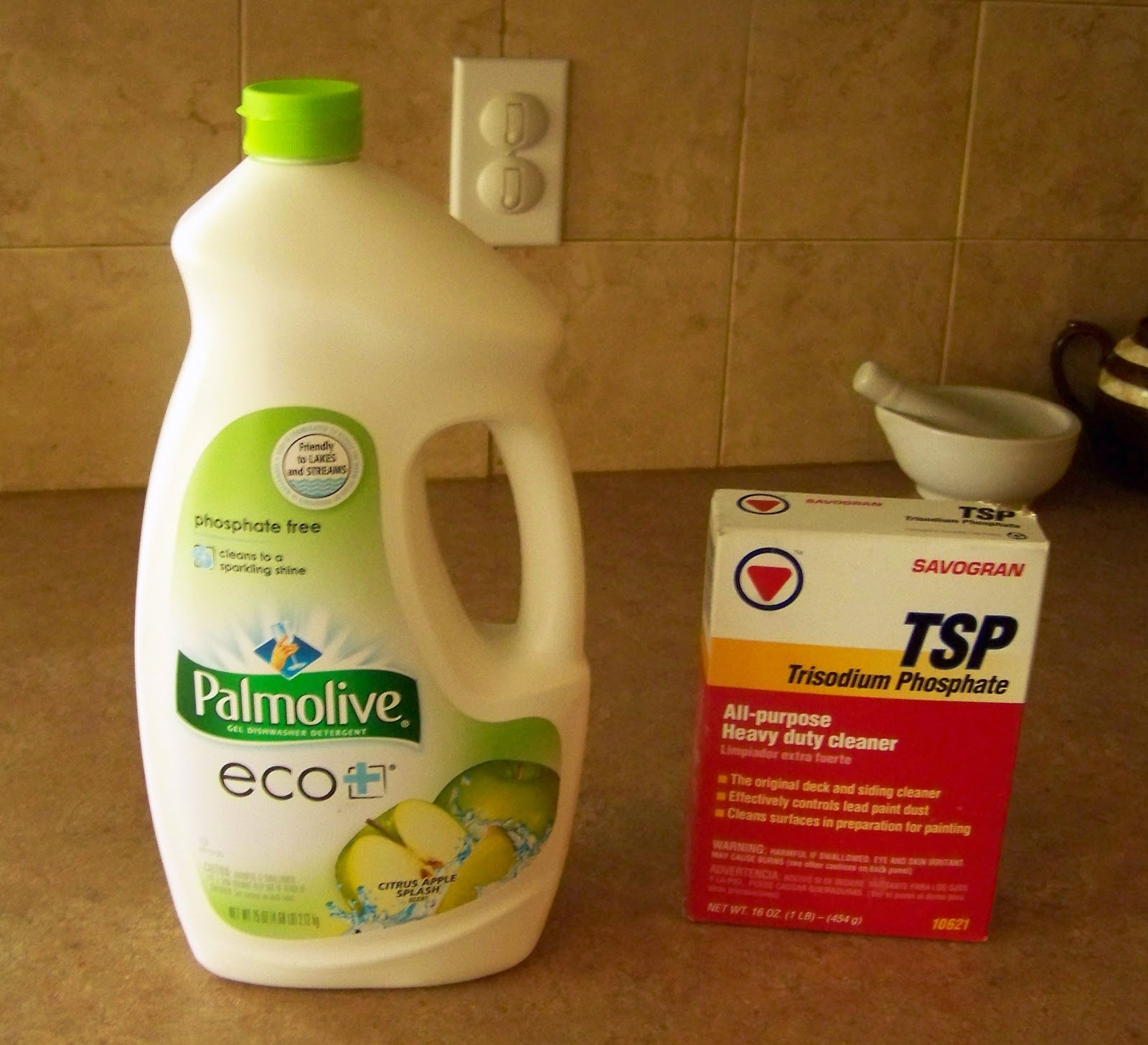 Poppy Juice Adding Trisodium Phospate to Your Dishwasher Detergent