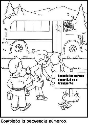 Prevencion De Accidentes Imagenes Para Colorear