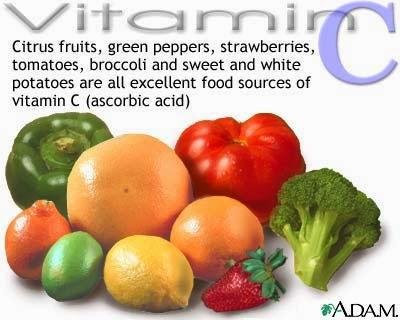 makanan sumber vitamin c