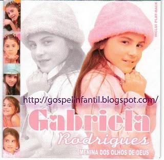 Gabriela Rodrigues - Menina dos Olhos de Deus - Playback