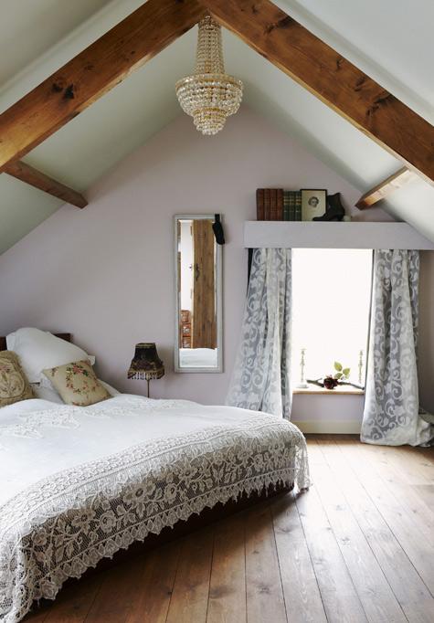 tidbits attic bedrooms