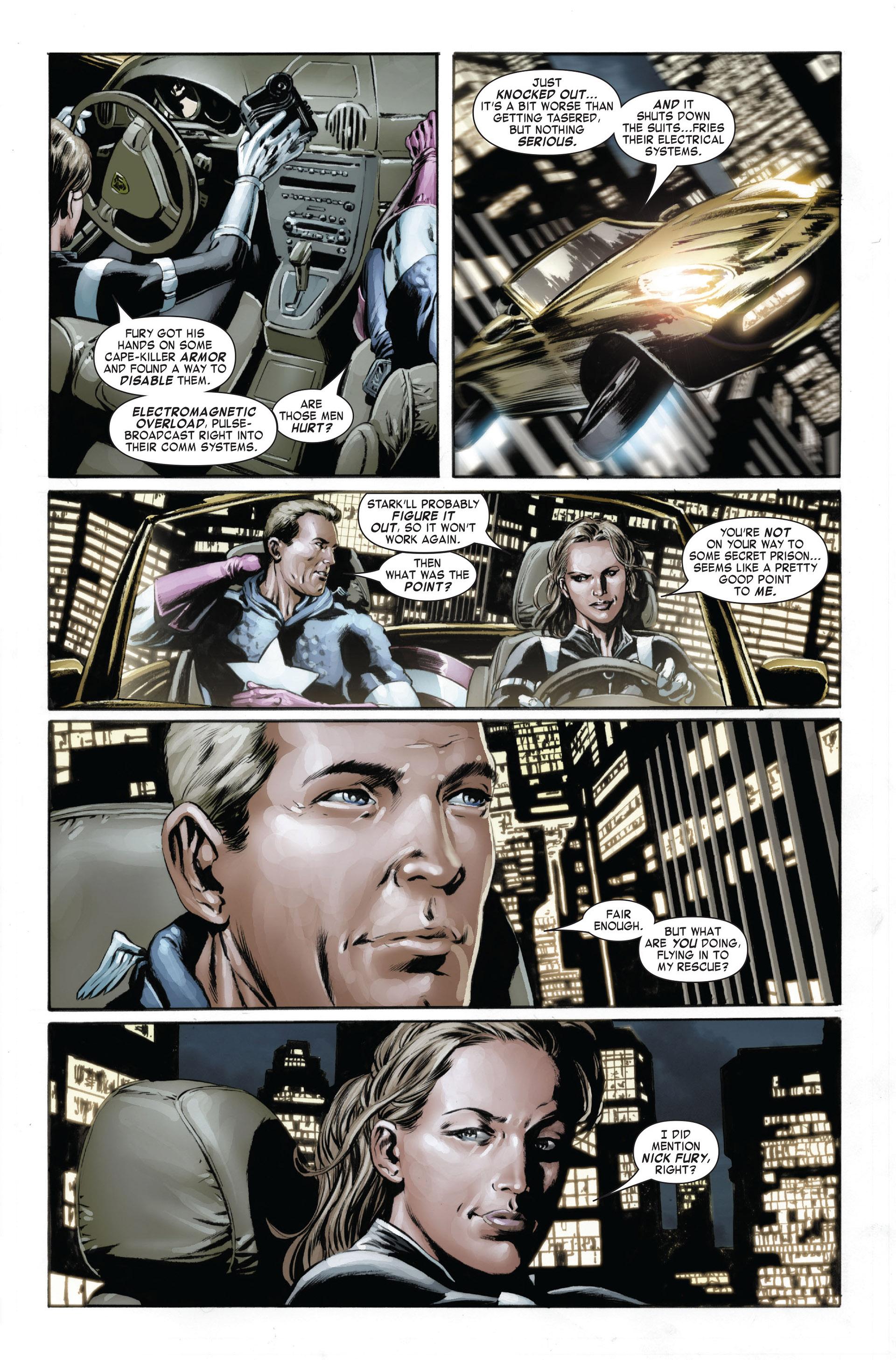 Captain America (2005) Issue #24 #24 - English 19