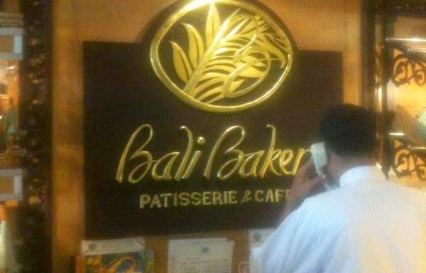 Good to pick upwards a snack on the agency to beach or shops Beaches in Bali: Kuta Bali Bakery