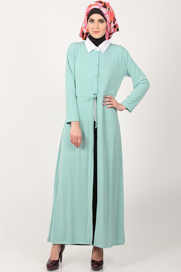 model cardigan muslimah modis dan elegan
