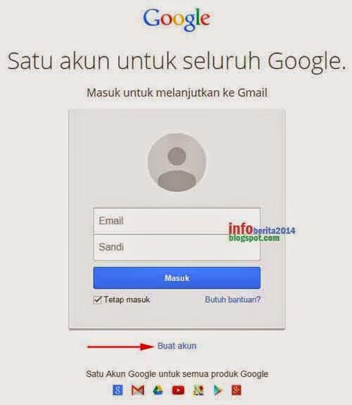cara buat email gmail langkah pertama