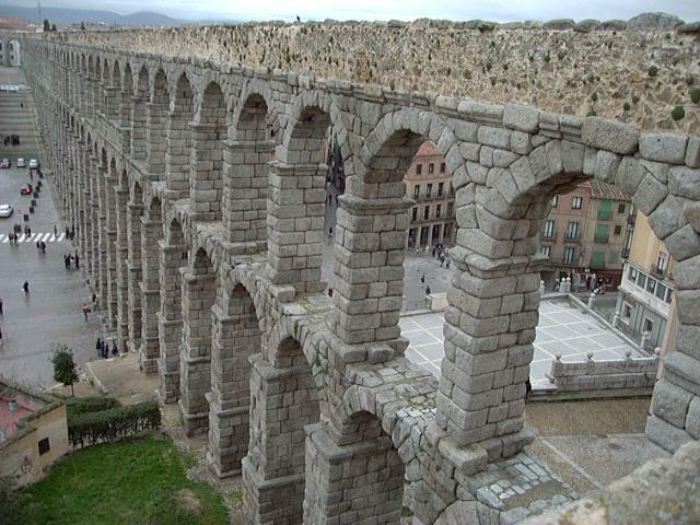 Terraqueoscopio acueducto de segovia - Acueducto de segovia arquitectura ...