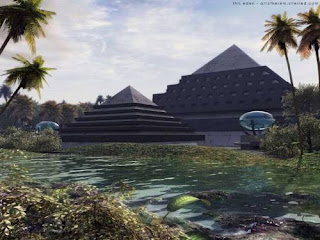 The Thongaloros Empire left strange buildings in out of the way places - image found on the Internet