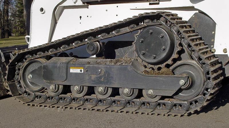 bobcat rubber track - Template