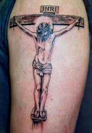beautiful+jesus+3d+tatto