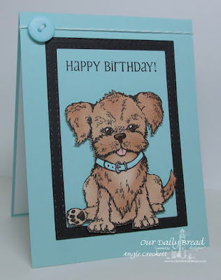 ODBD You Are Pawsome, ODBD Little Boys, ODBD Custom Double Stitched Rectangles Dies, Card Designer Angie Crockett