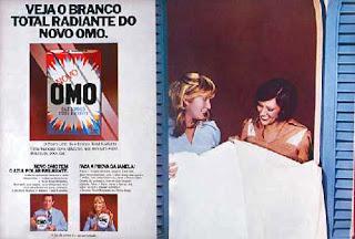 propaganda sabão em pó Omo - 1975. 1975. propaganda década de 70. Oswaldo Hernandez. anos 70. Reclame anos 70 .