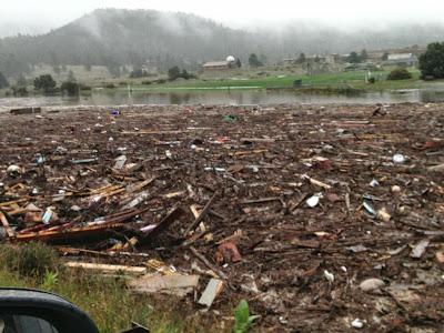 Get Well, Colorado! Estes Park Colorado. Lake Estes 2013 Colorado floods www.thebrighterwriter.blogspot.com #ColoradoStrong #EstesPark #coloradofloods #2013coloradofloods #Mountainstrong #lakeestes