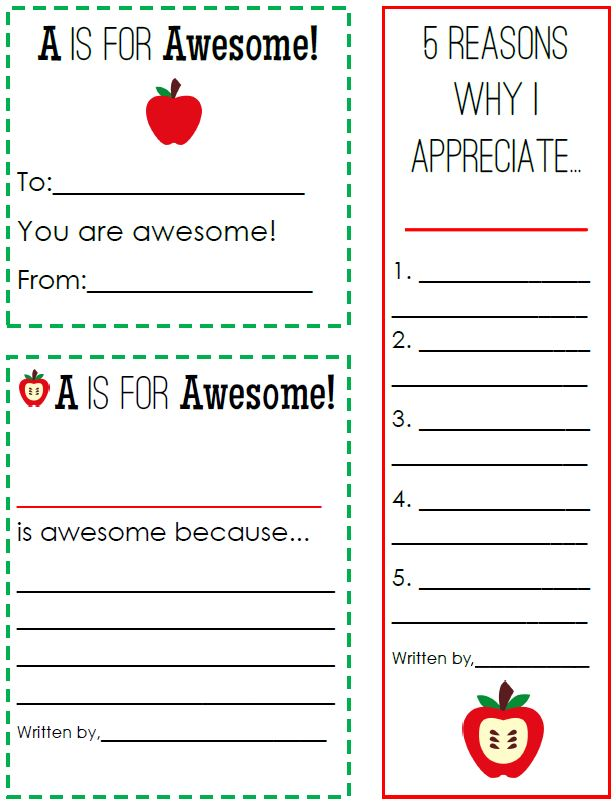 This is a graphic of Gratifying Teacher Appreciation Template