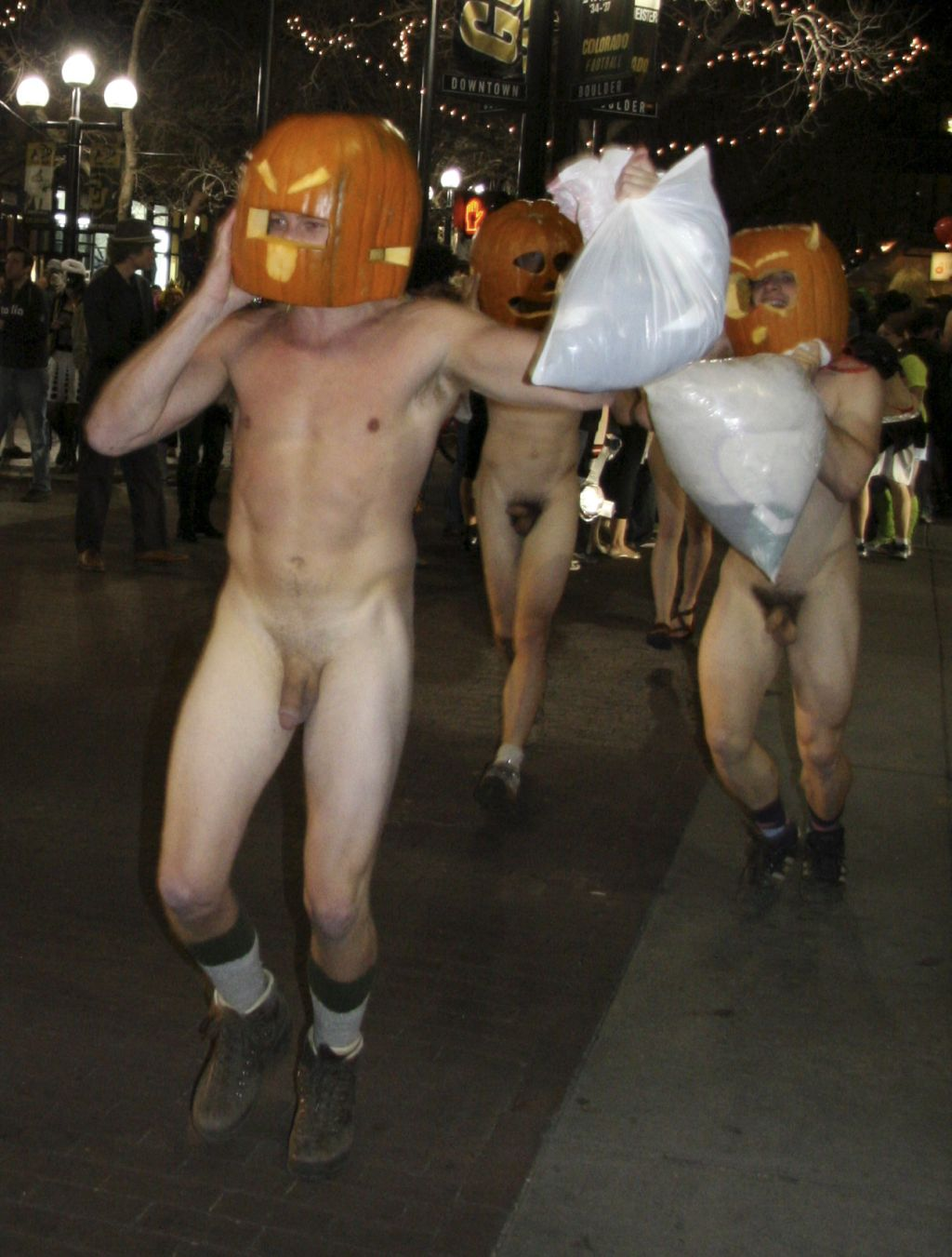 Boulder Naked Pumpkin Run: Halloween 2008