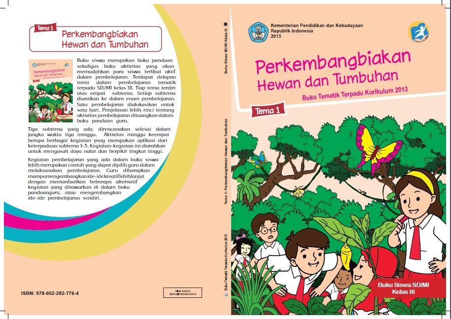 Download Buku Tematik Tema 1 Kelas 3 Kurikulum 2013
