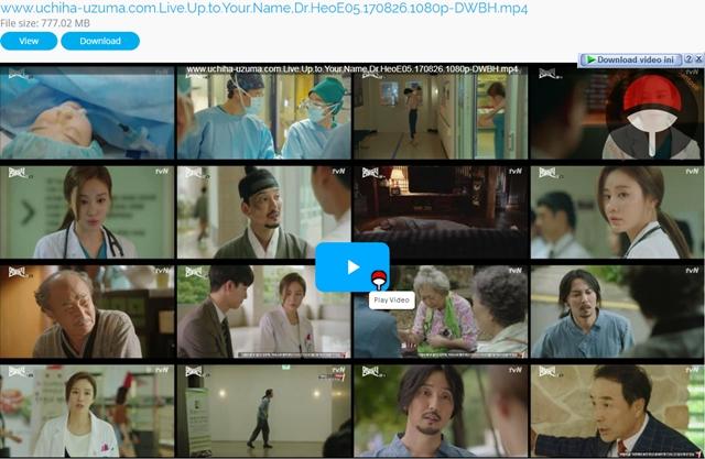 Screenshots Drama Korea Live Up to Your Name, Dr Heo aka Myeongbulheojeon aka Deserving of the Name aka 명불허전 (2017) Episode 05 1080p 720p 480p 360p Subtitle English Indonesia MP4