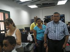 """Inauguración del Laboratorio de Informática Educativa  Escuela """"La Guaira"""""""