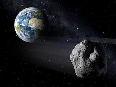 A massive 130,000-ton asteroid
