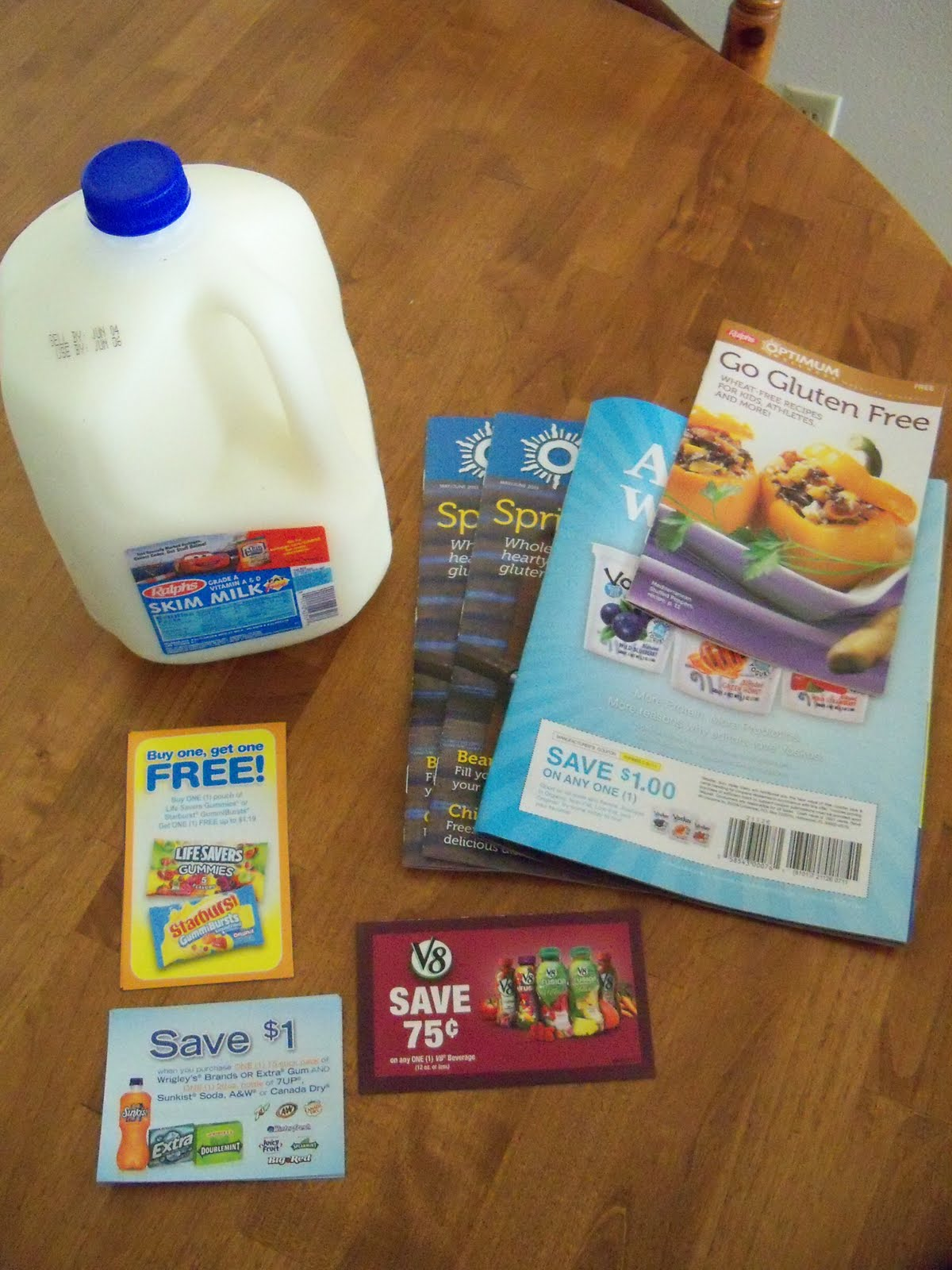 image about Ralphs Printable Coupons titled Cost savings Chatter: Circle K Ralphs #2 - Expected Milk!!