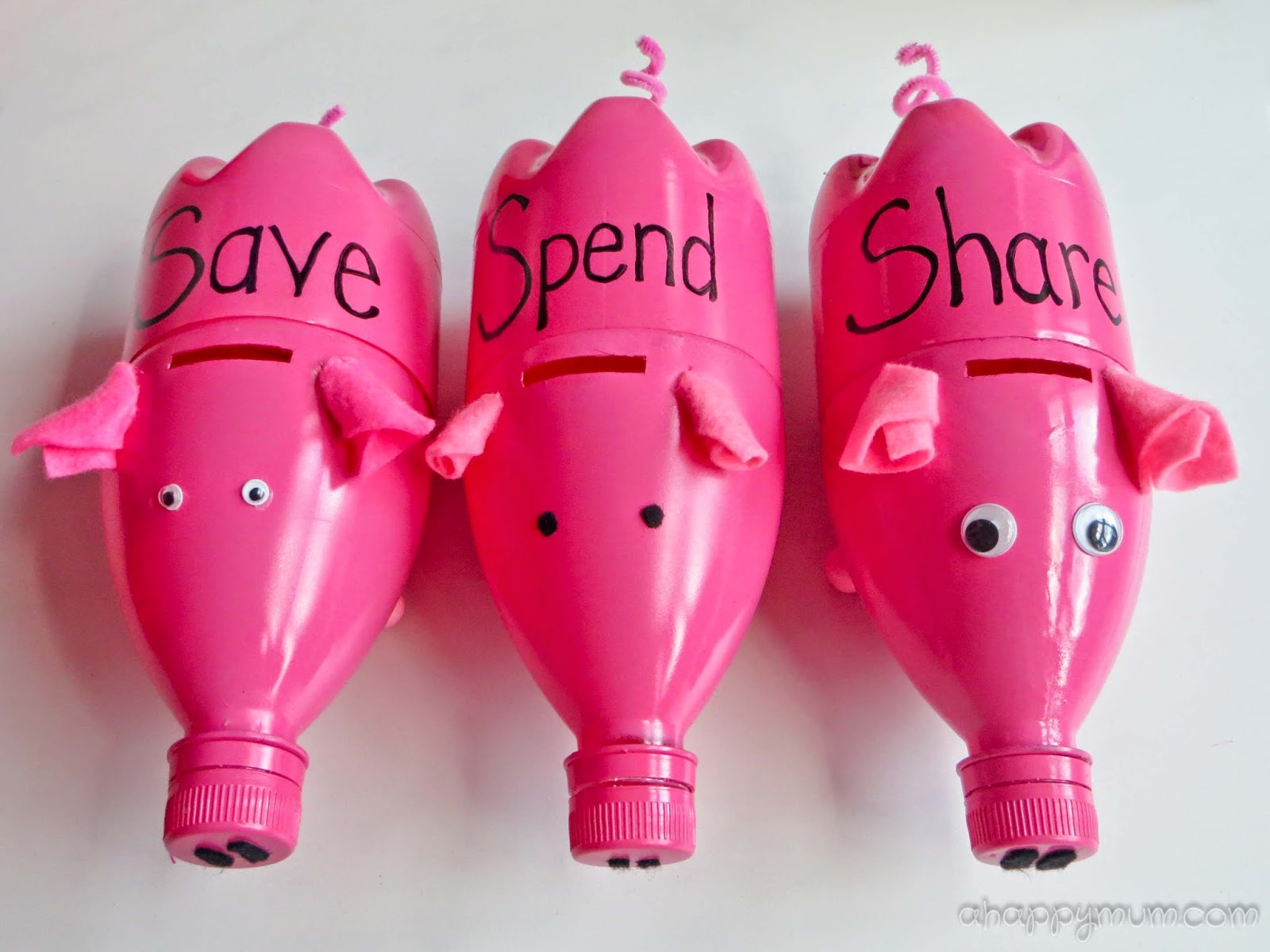 A happy mum singapore parenting blog for How to make a simple piggy bank