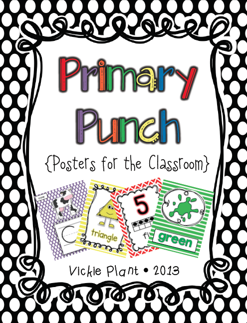 http://www.teacherspayteachers.com/Product/Primary-Punch-Posters-for-the-Classroom-755939