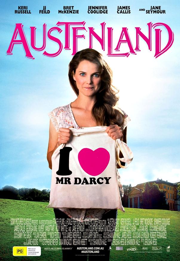 En tierra de Jane Austen póster