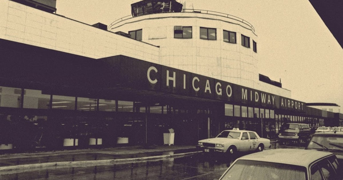 Airplane Life Chicago Midway Airport Name