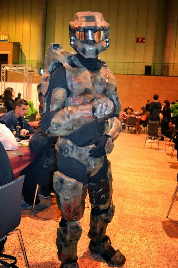 Cosplay de Jefe Maestro Halo en Mangafest 2013