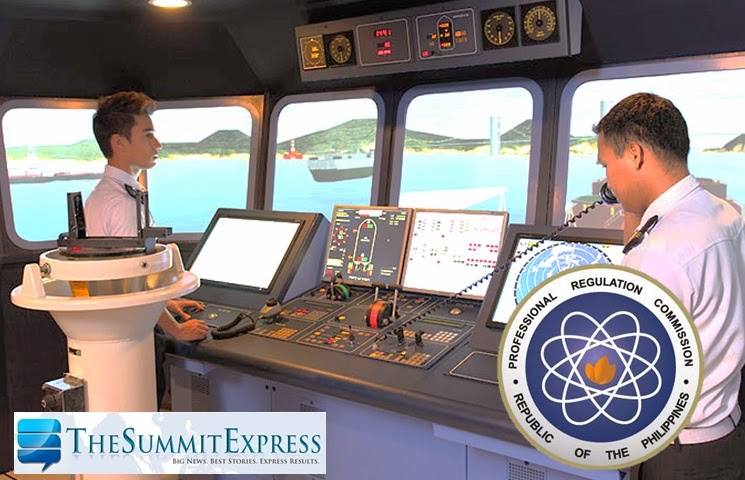 List of Passers: Marine Engineer board exam results (August 2014)