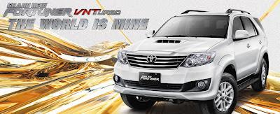 SUV Terbaik Tangguh dan Handal: Toyota Fortuner