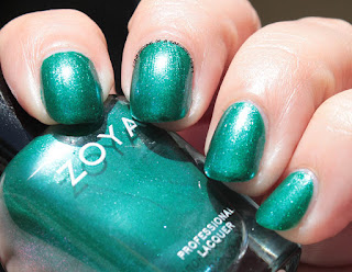 Zoya Paradise Sun Collection swatch of Selene