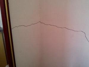 Como eliminar rachaduras em paredes